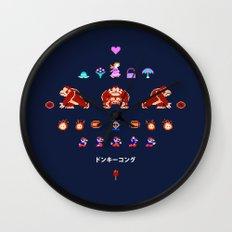 Donkey Kong Wall Clock