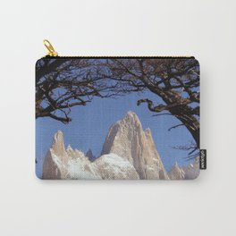 Fitz Roy Mountain Landscape (Patagonia, South America) Carry-All Pouch