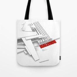 Malevich 3D [B&W] Tote Bag