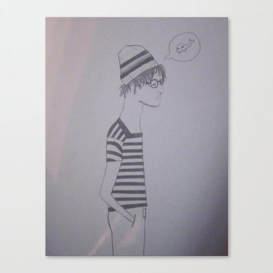 meh Canvas Print