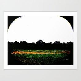Farms 1426 Art Print