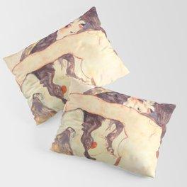 """Egon Schiele """"Two women embracing"""" Pillow Sham"""