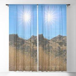 This Idaho Sun Sheer Curtain