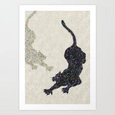 Felines Art Print