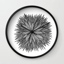 Prickly Star Wall Clock