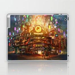 Cafe Big Bun Laptop & iPad Skin