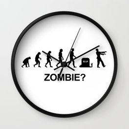 Evolution of zombie Wall Clock