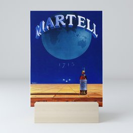Vintage Cognac Alcoholic Beverage Aperitif Advertising Poster Mini Art Print
