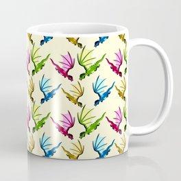 Little Dragons (yellow) Coffee Mug