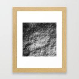 Crumpled shadow Framed Art Print