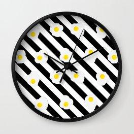 Eggsistentialism Wall Clock