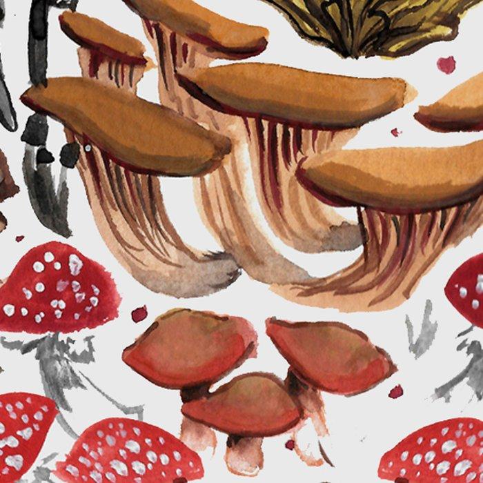 Autumnal Fungi Leggings