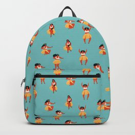 Hula dancers Backpack