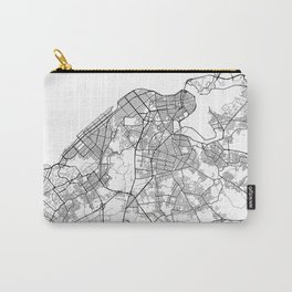 Havana Cuba Street Map Carry-All Pouch