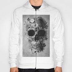 Garden Skull B&W Hoody