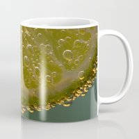 lime Mugs featuring Lime! by Caroline Benzies Photography