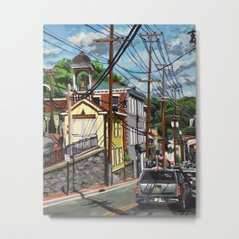 Ellicott City Flood Relief- Firehouse Museum Metal Print
