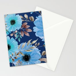 FLOWERS WATERCOLOR 26 Stationery Cards