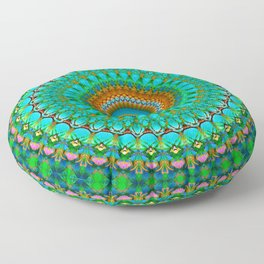 Geometric Mandala G388 Floor Pillow
