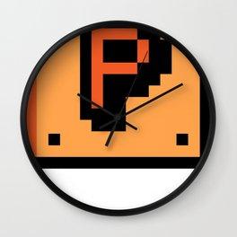 Pxlbyte Logo Shirt Wall Clock