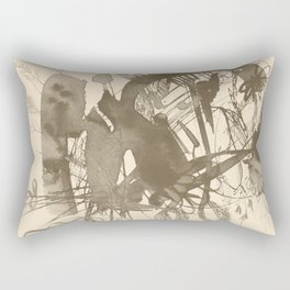 composition 5 Rectangular Pillow