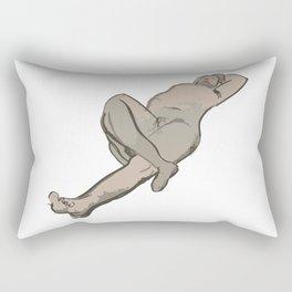 Male Nude - An Artwork Rectangular Pillow
