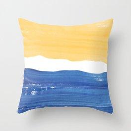 Contrast Halftone Throw Pillow