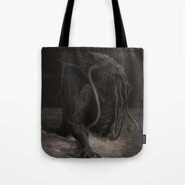 Cthulhu Rises Tote Bag