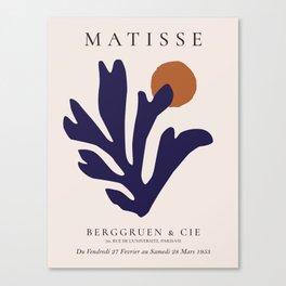 Henri Matisse Poster Canvas Print