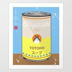 My Neighbor Toto ro - Miyazaki - Special Soup Series  Art Print