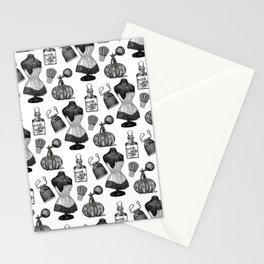Victorian Wall Paper Stationery Cards
