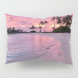 SUNSET AND PALM TREES Pillow Sham