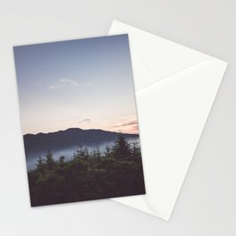 Night is coming Stationery Cards
