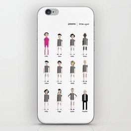 Juventus - All-time squad iPhone Skin