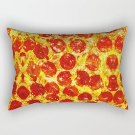 Pizza Art Rectangular Pillow