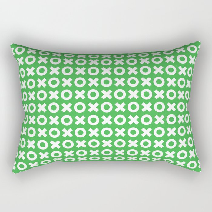 XOXO ((shamrock)) Rectangular Pillow