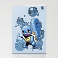 squirtle Stationery Cards featuring Squirtle by Yamilett Pimentel