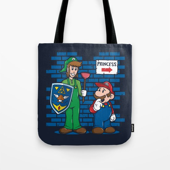 Your Princess is in Another Castle Tote Bag