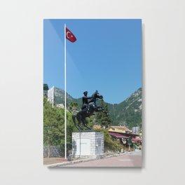 Turunc Statue Metal Print