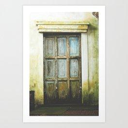 Bawa Door Art Print