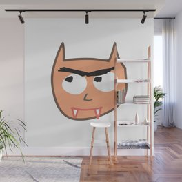 Vampire Cat Wall Mural