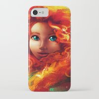 brave iPhone & iPod Cases featuring Brave by Peach Momoko