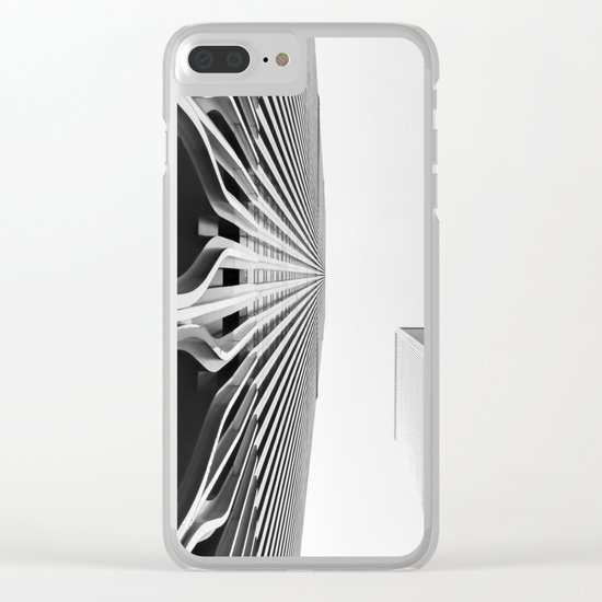 World Up Clear iPhone Case