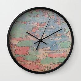 Colourfull world Wall Clock