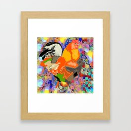 Chicken Framed Art Print