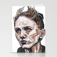 depeche mode Stationery Cards featuring Mode by Meredith Mackworth-Praed