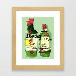 James & Son Framed Art Print