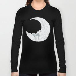 Sleeping Moon Long Sleeve T-shirt