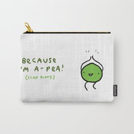 Happy Pea Carry-All Pouch