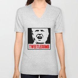 Tweetledumb Unisex V-Neck